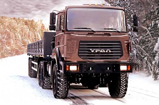 Топ 29 самых мощных грузовых автомобилей в мире в 2017 году. Урал 63704M
