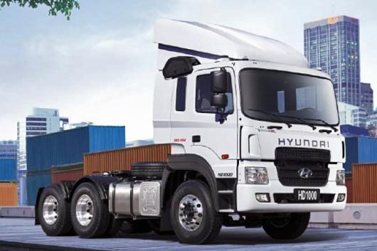 Топ 29 самых мощных грузовых автомобилей в мире в 2017 году. Hyundai HD 1000