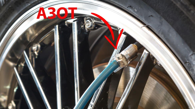 Что нужно знать о шинах, накаченных азотом