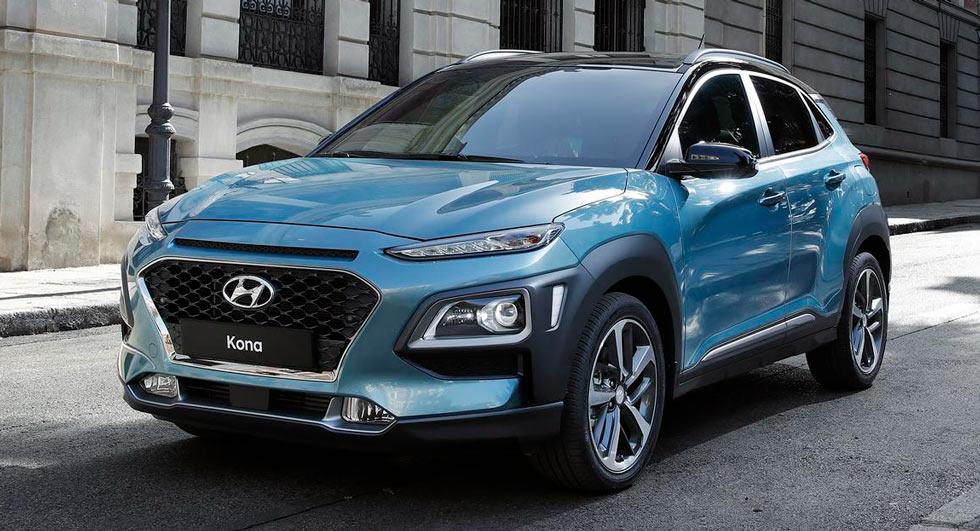 Премьера нового кроссовера 2018 Hyundai Kona, первая техническая информация и изображения