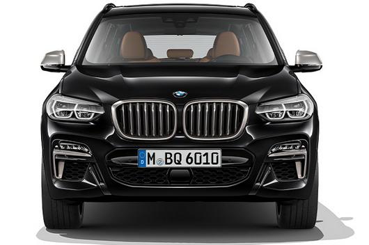 2018 BMW X3 Первые официальные фотографии и все подробности