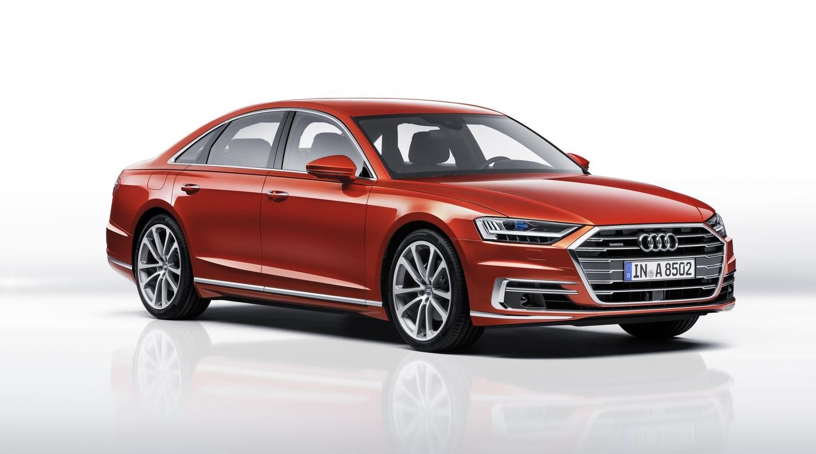 Audi представила свой новый флагманский седан A8 2018 года