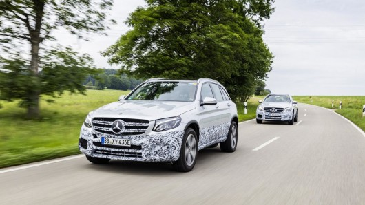 Mercedes GLC F-Cell: Теперь и водородная версия