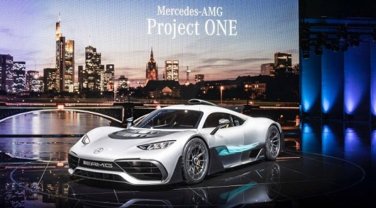 Сенсация на 2017 Франкфурте! Показан гиперкар Mercedes-AMG Project One фото