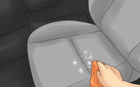 Что делать если в салоне машины пролилось растительное масло