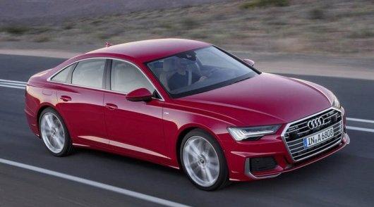 2019 Audi A6, появились первые фотографии без камуфляжа