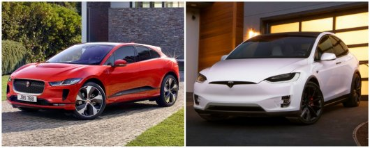 Jaguar I-Pace против Tesla Model X: Кто круче?