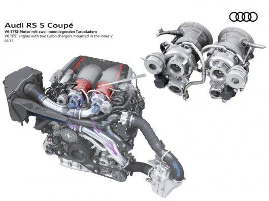 Уникальный новый двигатель V6 на Audi R8: Самое интересное