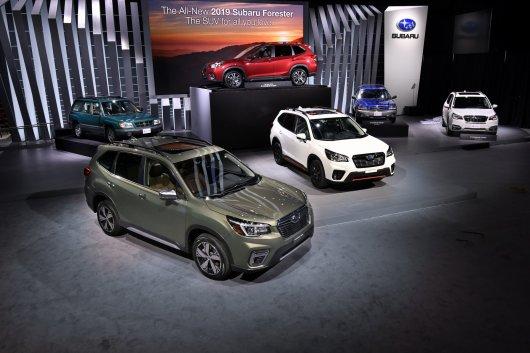 Появился новый Subaru Forester: Вот он какой