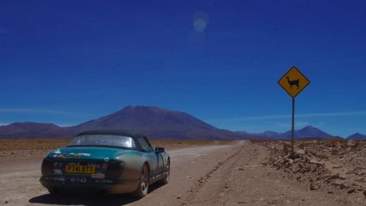 От Северного полюса до Южной Америки – 33.000 км в кабриолете