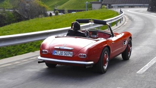 BMW 507: Исторический тест- драйв