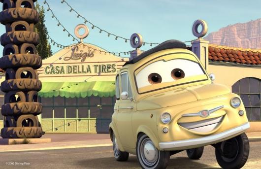 """На каких моделях основаны автомобили из мультфильма """"Тачки"""""""