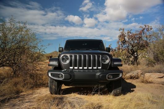 Первый крупный обзор нового Jeep Wrangler 2018 года