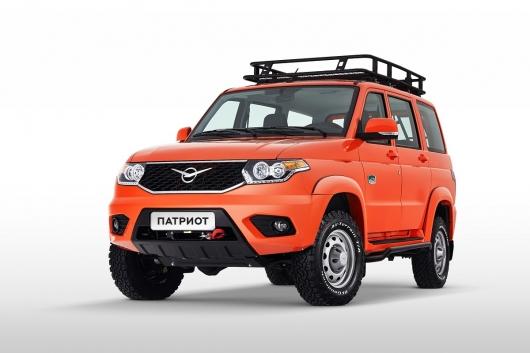 Новая «Оранжевая» комплектация УАЗ Патриот за 1 млн рублей