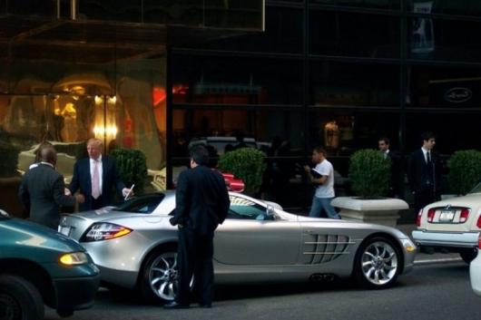 Автомобильная коллекция Дональда Трампа