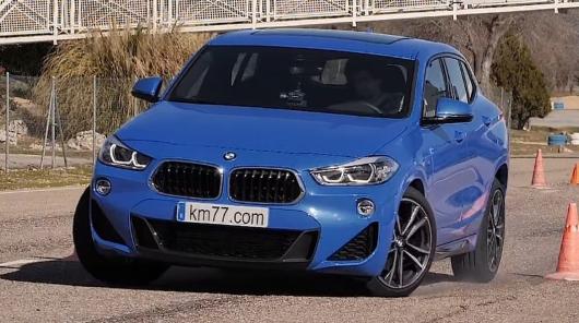 BMW X2 прошел 'лосиный тест'