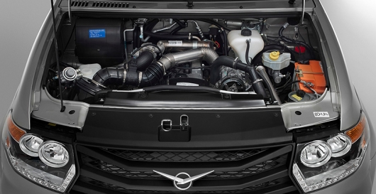 УАЗ получил турбину и 325 Нм крутящего момента: Видео