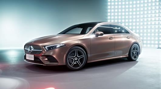 Mercedes A-Class L Sedan: Дебют на Пекинском автосалоне 2018