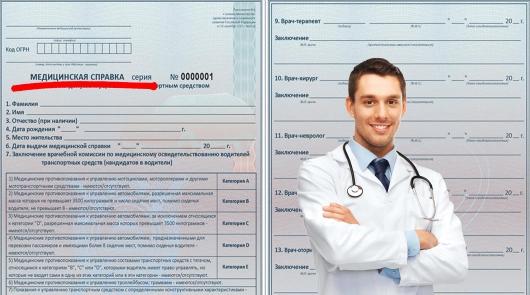 Где получить медицинскую справку для водительских прав в Мытищах