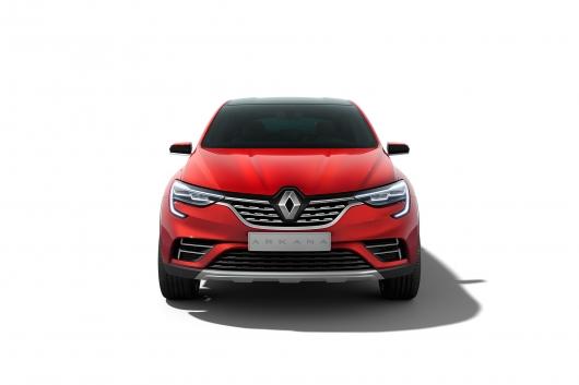 Renault показала новый кроссовер Arkana (он разработан специально для России)