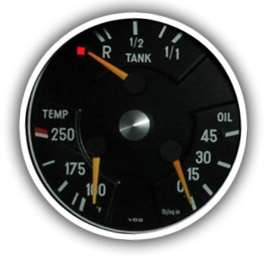 Кто придумал обозначать в машине стрелкой на значке бензоколонки месторасположение топливного бака