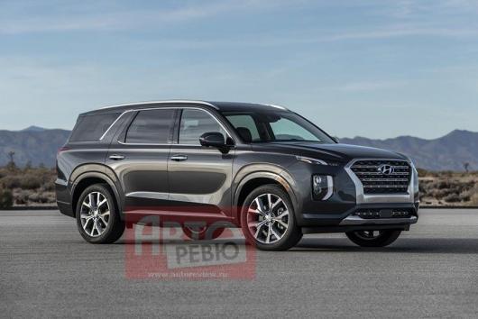 2020 Hyundai Palisade: первая фотография внедорожника без камуфляжа