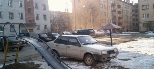 Зимние штрафы ПДД