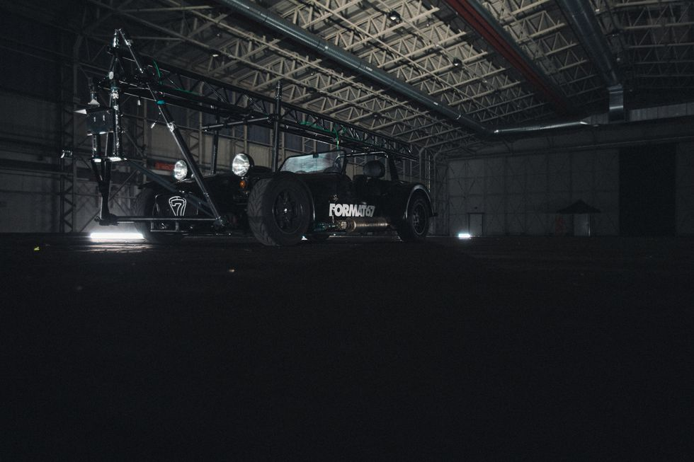 Самый крутой фотоаппарат на планете сделанный из автомобиля