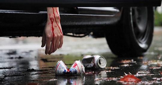 Сбежал с места ДТП – ответственность как за пьянку