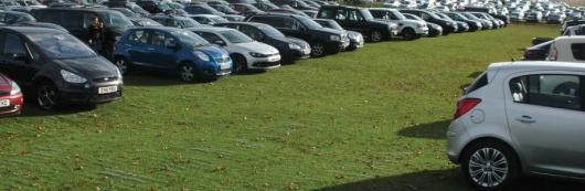 Штрафы за парковку на газонах остаются, как и юридические вопросы по ним