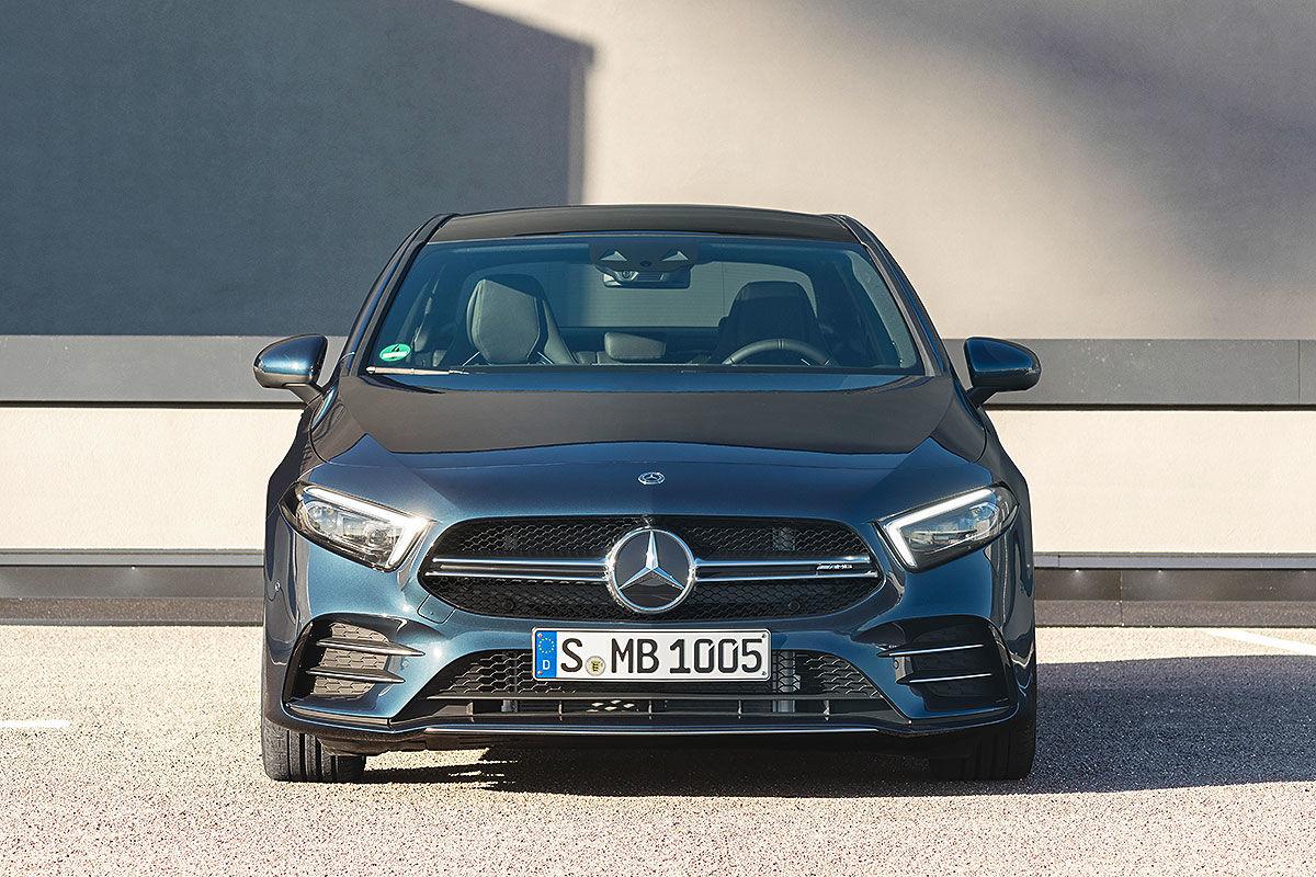 Mercedes готовит спортивный AMG A-class