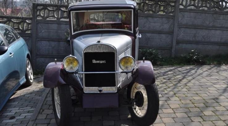 В Польше угнали и вернули очень старый автомобиль (ему 90 лет)