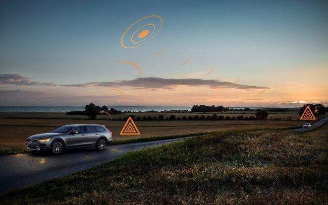 Volvo создает всемирную сеть-облако безопасности для водителей