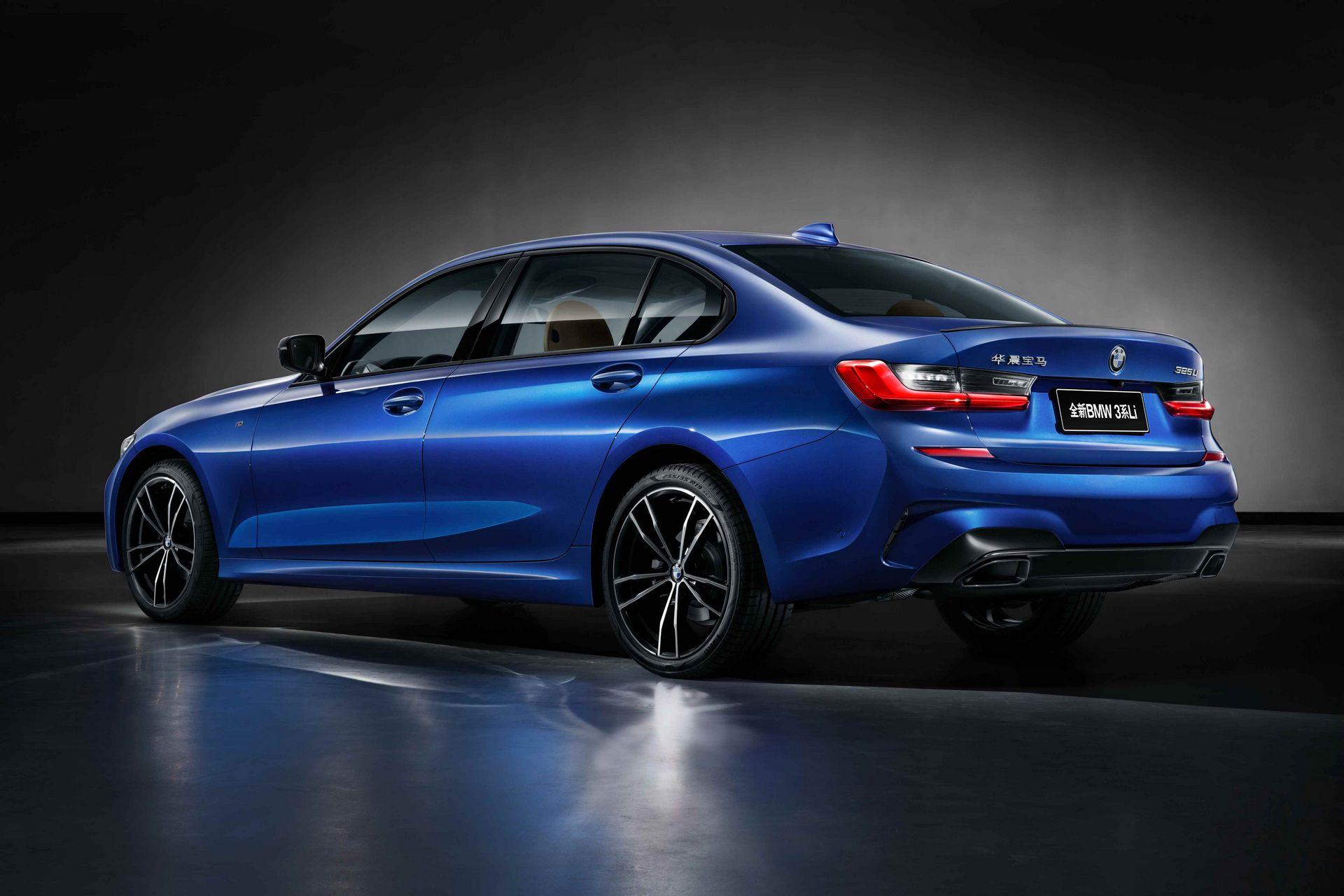 BMW 325li 3-й серии: большой седан, но только для китайского рынка
