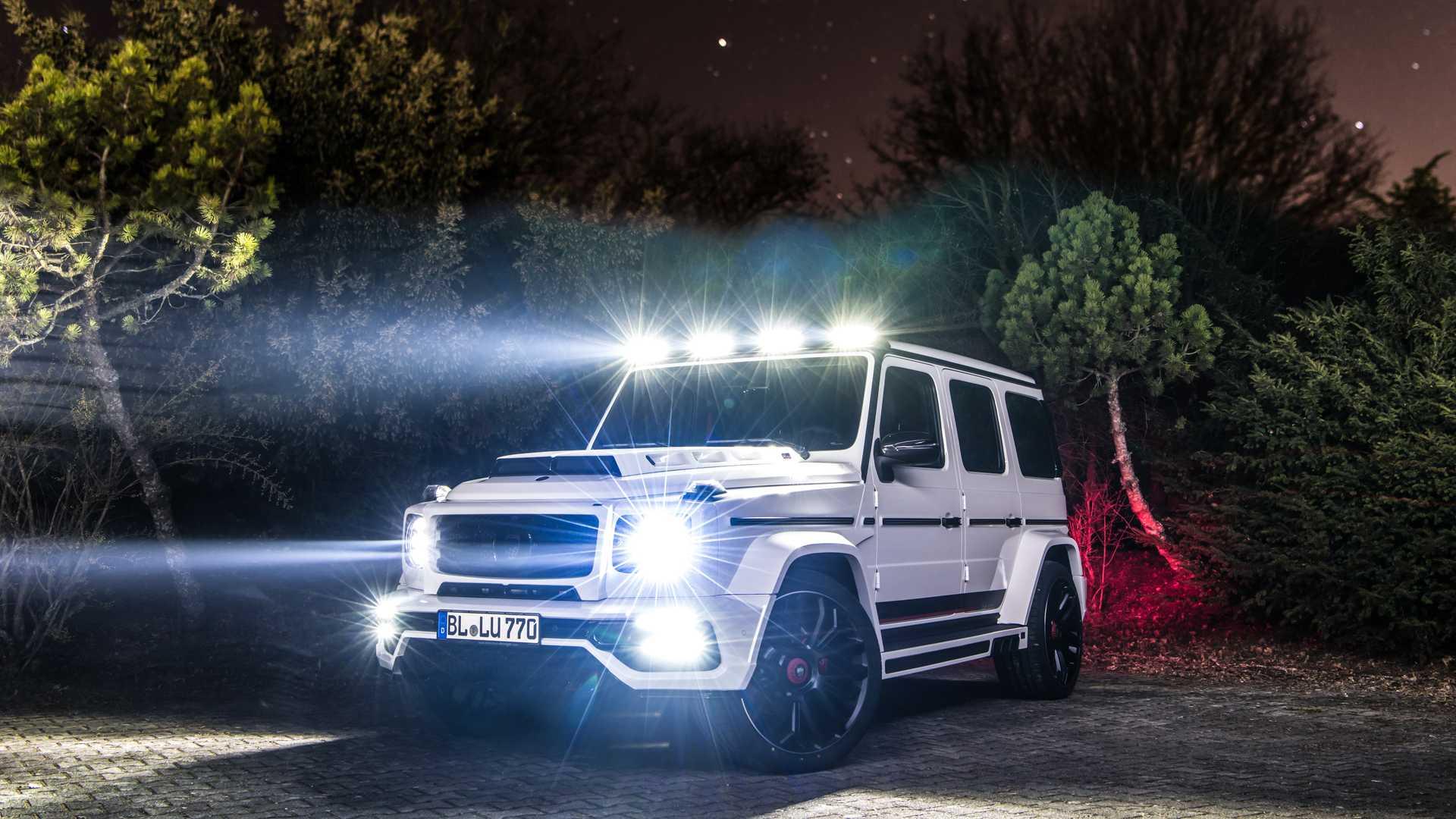 Mercedes-AMG G63 – самый мощный «Гелик» месяца