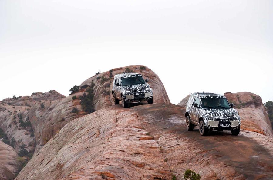 2020 Land Rover Defender: первые фотографии и характеристики