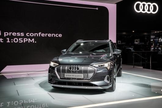 Audi не сможет выпускать запланированное количество E-Tron