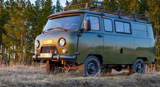 Новая версия УАЗ «Буханки» для действительно сложного бездорожья