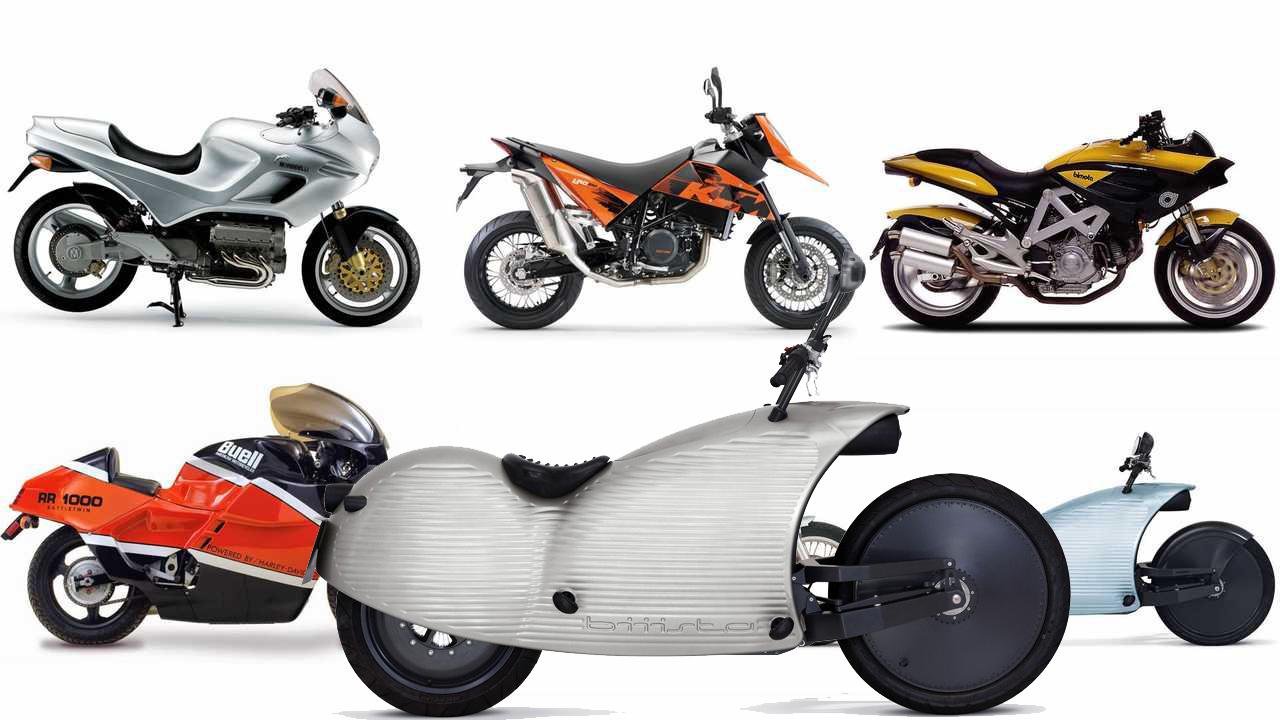 Топ-10 самых отталкивающих мотоциклов современности