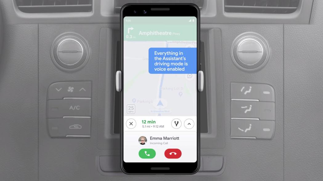 Новое автомобильное приложение от Гугл для смартфонов