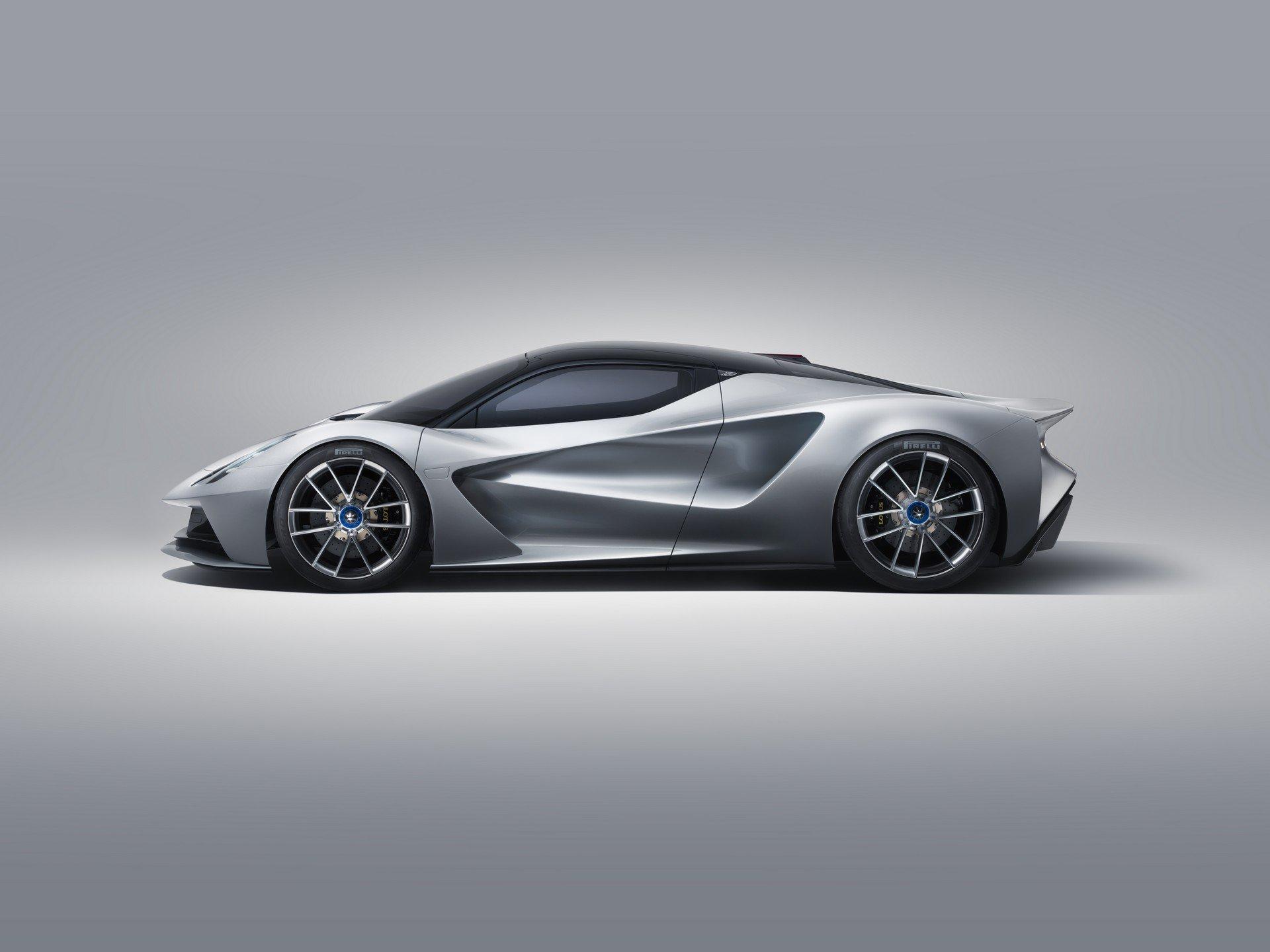 Lotus Evija: электрический самый мощный в мире дорожный автомобиль